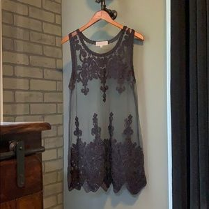 NWOT Pretty Angel Gray Tunic